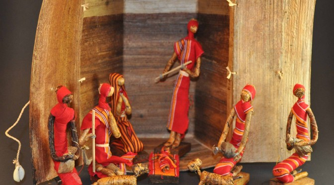 Kitenge Nativity