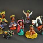 Colorful Oaxacan Nativity