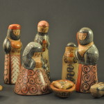 Vintage Tonala Nativity