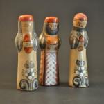 Vintage Tonala Nativity Magi