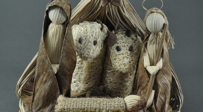 Natural Fiber Nativity