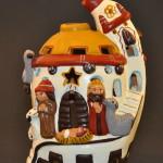 Nativity Candleholder