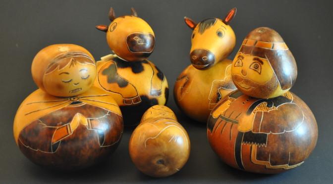 Joyful Gourd Nativity
