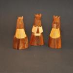 Multi-Wood Abstract Nativity, Magi