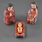 Folk Art Nativity - Holy Famoly