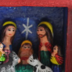 Miniature Nativity Retablo