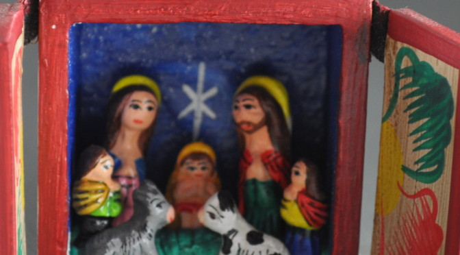 Nativity Retablo