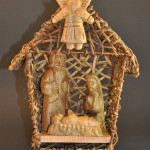 Woven Nativity Hut