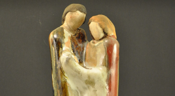 Ceramic Holy Family