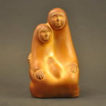Brown Clay Holy Family