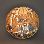 Carved Gourd Nativity