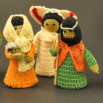 Crocheted Nativity