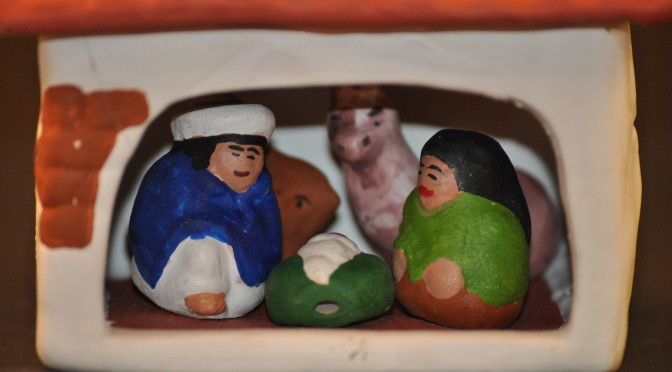 Adobe Hut Nativity