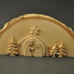 Wood Nativity Puzzle