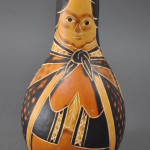 Large Gourd Nativity, Mary