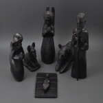 Black Mahogany Nativity