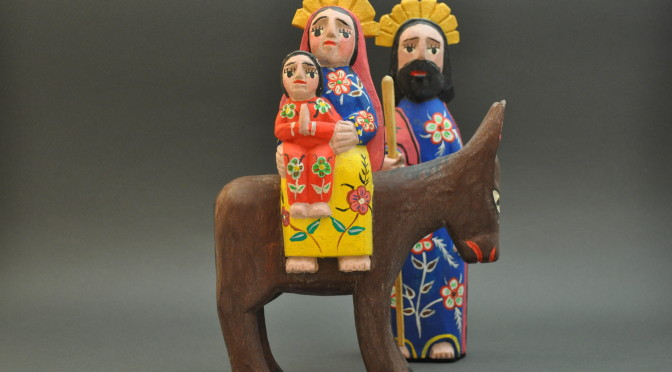 Holy Family Resting on their Way to Egypt