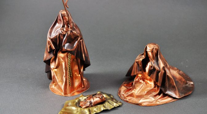 Copper Holy Family