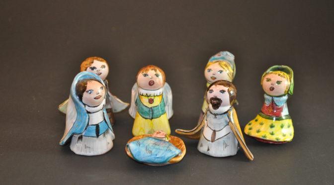 Nativité en Faïence