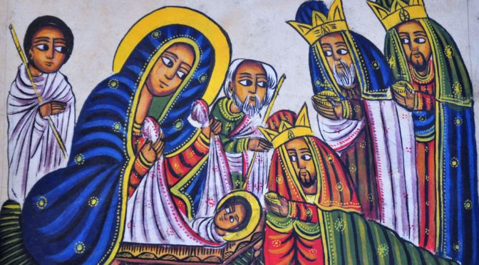 Adoration of the Magi Icon