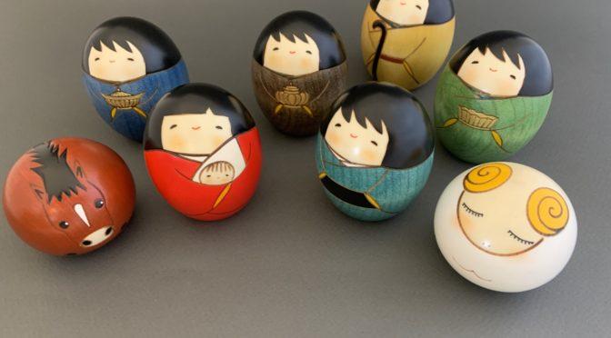 Kokeshi Nativity
