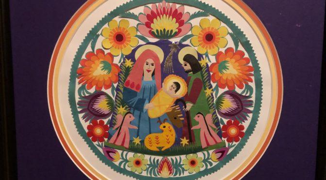Circular WYCINANKI Nativity